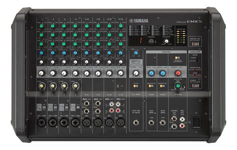 Daftar Power Mixer Yamaha yamaha emx5 12 channel powered mixer samash