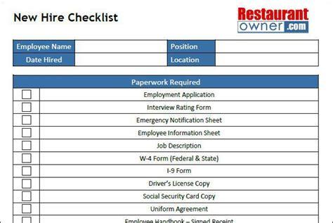 checklist template free premium templates