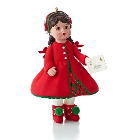 2013 madame alexander doll hallmark christmas ornament