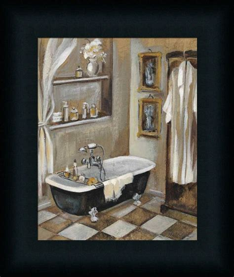 framed pictures for bathroom french bath iii silvia vassileva bathroom spa framed art