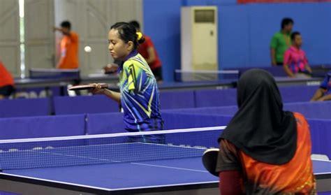 Meja Pingpong Malaysia kejuaraan tenis meja rebut 2 emas indonesia juara umum