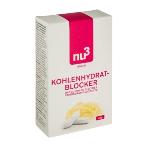 Wellness Starch Blocker Pelangsing Diet Karbohidrat 60 nu3 carbohydrate blocker start your diet now with nu3