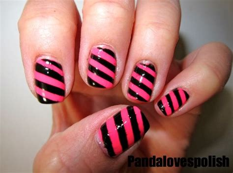 easy nail art stripes easy nail art ideas for beginners easy nail polish