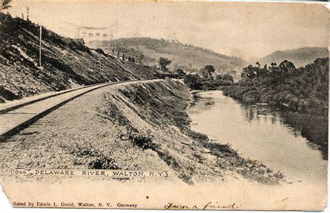 Delaware River, Walton - Delaware County NY Genealogy and ...
