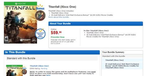 Vudu Gift Card Walmart - titanfall deals to get this season s most anticipated gaming title