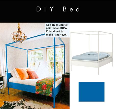 ikea poster bed ikea hack painted canopy bed in heidi merrick s room via