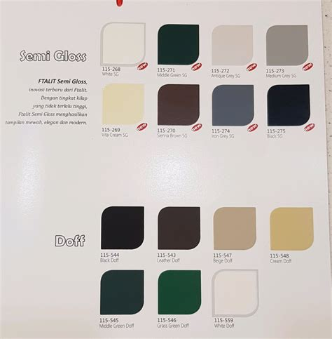 warna cat besi hijau simple  minimalis