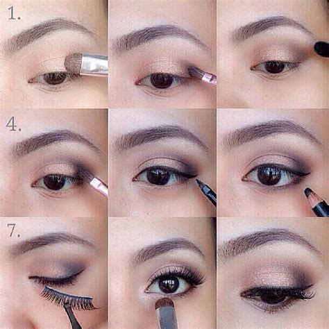 tutorial on eyeliner application simple eyeshadow tutorial for beginners beauty fashion