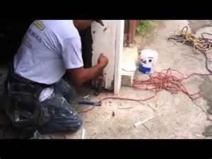how to repair a termite damaged garage door jamb part 3 of