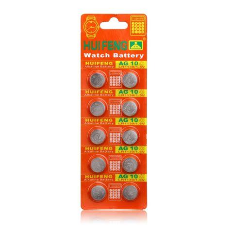 Baterai Kancing Lithium Ag10 Lr1130 1 55v 1 Pcs buy 2 2pack ag10 lr1130 389 lr54 sr54 sr1130w 189 l1130 button cell lithium battery coin