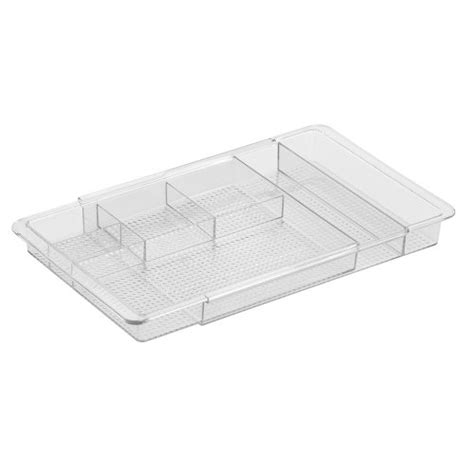 Interdesign Clear Drawer Organizer by Interdesign Cosmetic Make Up Organizer Expandable Vanity