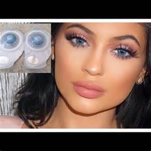Brilliant blue freshlook color blend contact lens nonprescription