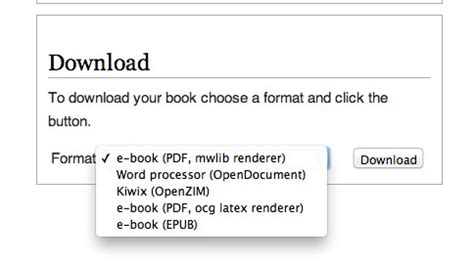 epub format create how to turn wikipedia pages into ebooks hongkiat