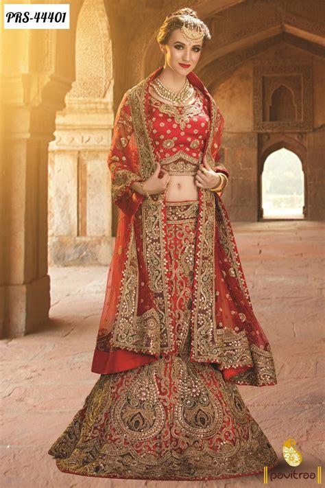 Wedding Bridal Designer Lehenga Choli Online Shopping with