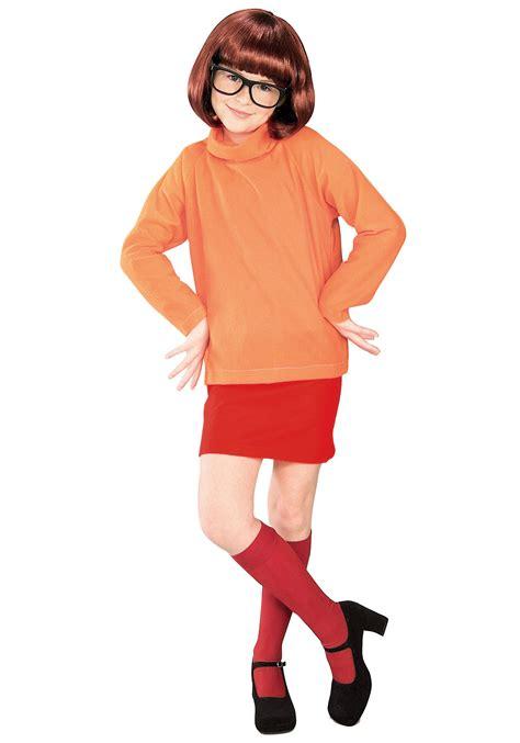 scooby doo costume child velma costume