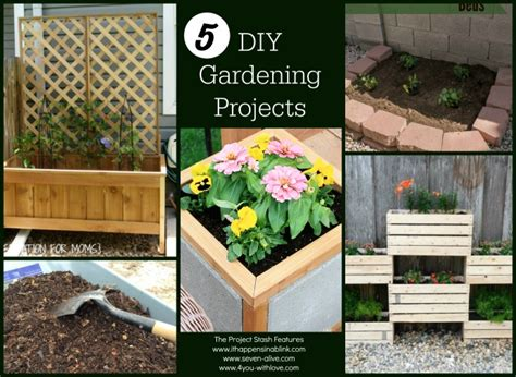 5 Midweek Diy Projects by 5 Diy Gardening Projects The Project Stash