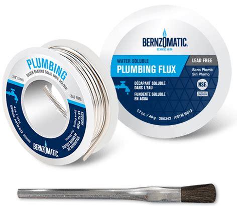 Tight Seal Plumbing by Solder Brazing Rods Flux Plumbing Tools