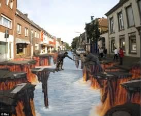Street Art by 123 Funny Picture 3d Street Arts Street Art 3d Art 3d