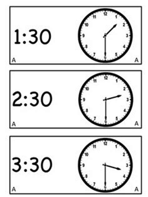 printable clock paddles 1000 images about telling time on pinterest telling