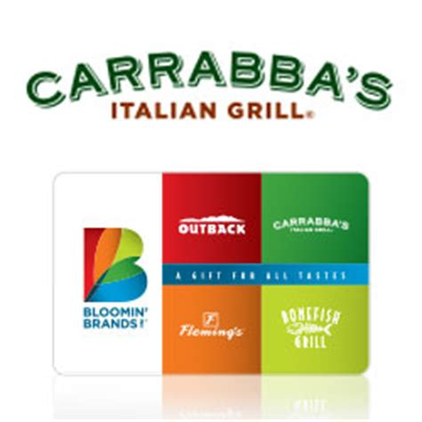 Carrabba S Gift Card Promotion - buy carrabba s gift cards at giftcertificates com