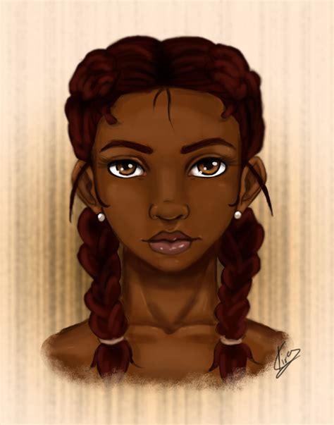 beautiful cartoon women art a dark beauty by kiratheartist on deviantart