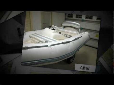 zodiac boat restoration inflatable boat restoration youtube