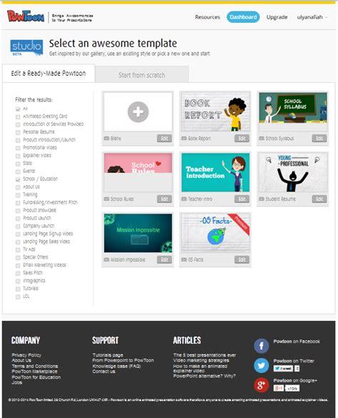 cara membuat video presentasi dengan powtoon tutorial membuat presentasi online menggunakan powtoon