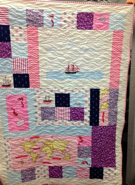 Out To Sea Quilt by Latimer Blogger S Quilt Festival Baby Quilts