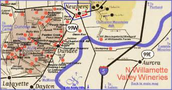 oregon wine tasting map map to the wineries of oregon s dundee wine