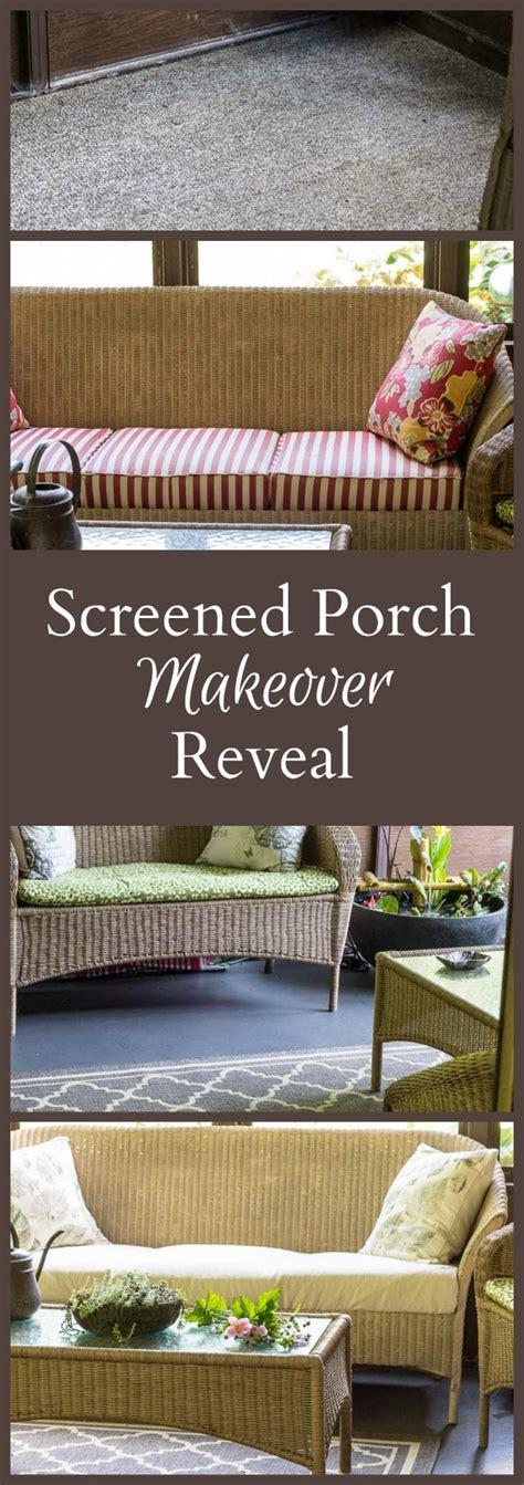 screened porch makeover screened porch makeover reveal hearth vine