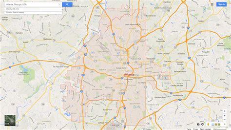 us map atlanta atlanta map images search