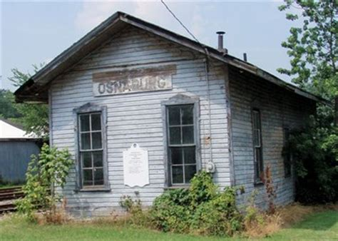 osnaburg depot east canton oh lincoln highway on