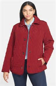 gallery turnkey quilted jacket plus size nordstrom