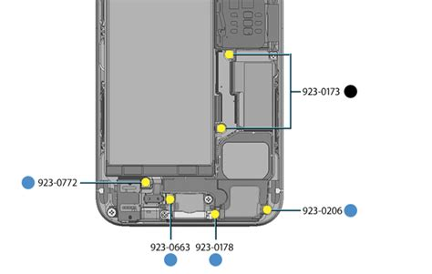 screw layout iphone 5s internal view of iphone 5s info