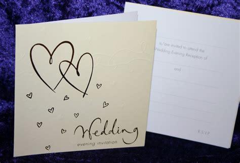 packs of evening wedding invitations luxury wedding evening invitations pack 10 or 12 silver