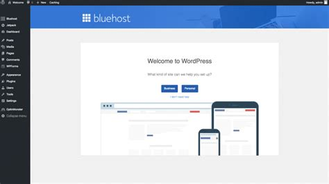 wordpress tutorial bluehost how to create a small business website in 5 simple steps