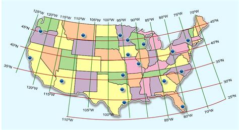 united states map with latitude and longitude bes kid mr ts learning links