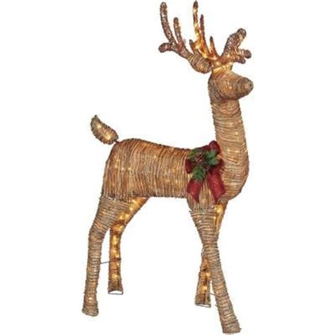 grapevine animated lighted deer home accents 5 ft pre lit grapevine animated standing deer ty454 1511 0 the home