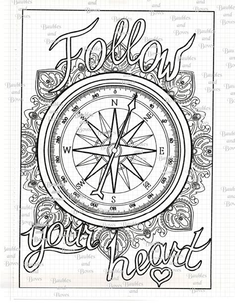 nautical mandala coloring pages 9 best coloring compass images on pinterest adult