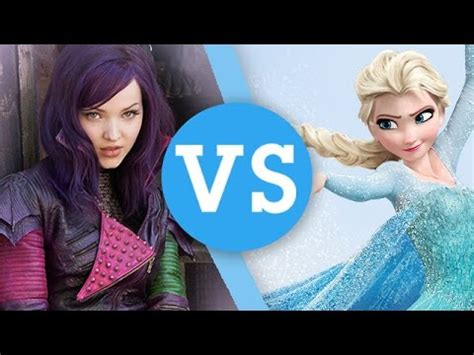 disney descendants kidnapping frozen elsa anna mal disney s descendants vs ever after high a once upon a