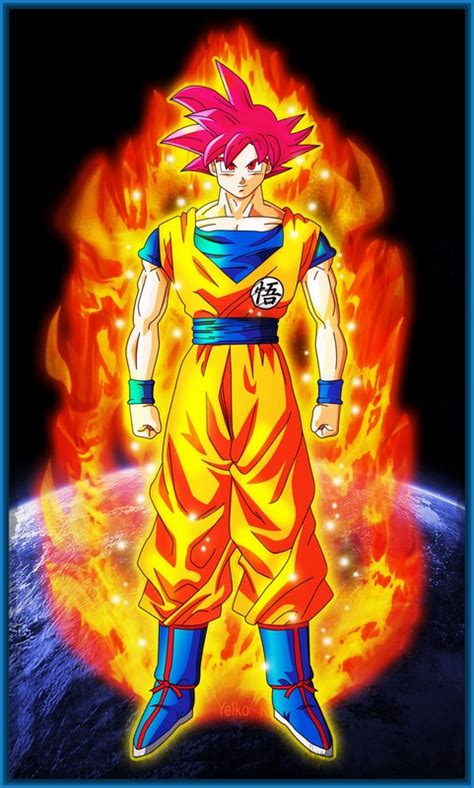 imagenes de dragon ball z dios super sayayin fotos de dragon ball z goku super sayayin dios archivos
