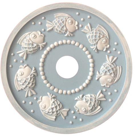 ceiling medallion bubbly fish ceiling medallions riccimarie ricci