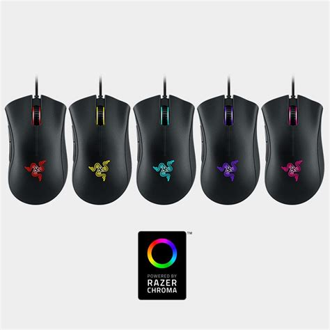 most comfortable gaming mouse com razer deathadder chroma multi color