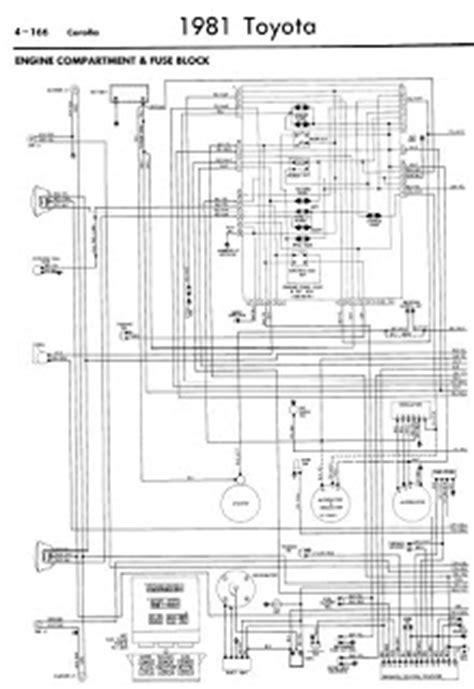 repair-manuals: Toyota Corolla 1981 Wiring Diagrams
