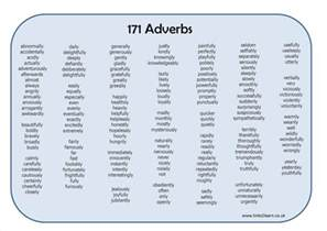can you explain the 5 basic types of adverbs with exle