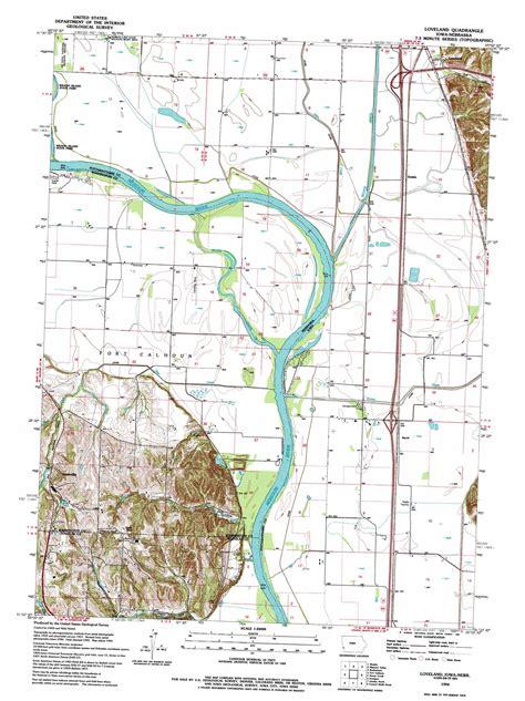 loveland colorado map loveland topographic map ia ne usgs topo 41095d8