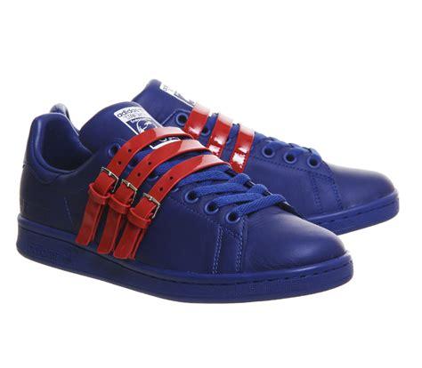 reasonable price womens shoes adidas raf simons raf x stan smith collegiate royal power