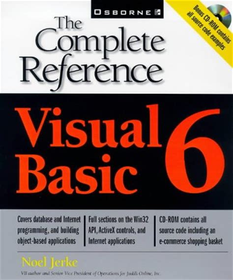 reference books for vb net visual basic 6 the complete reference ebook