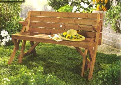 bench picnic table combo creative ideas diy folding bench and picnic table combo