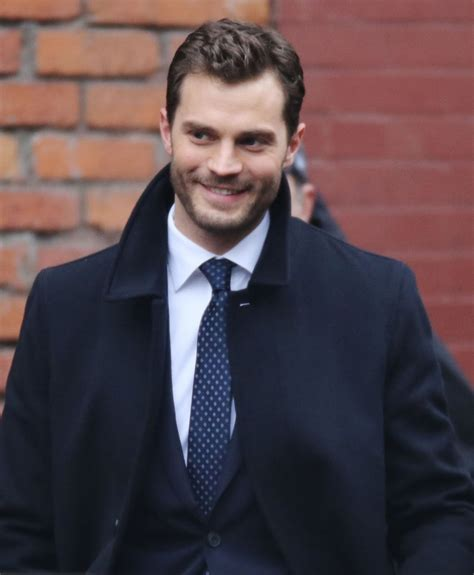 fifty shades darker film jamie dornan fifty shades darker jamie dornan set pictures popsugar